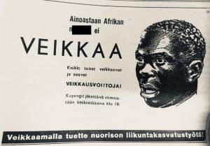 rasistinen veikkauksen mainos